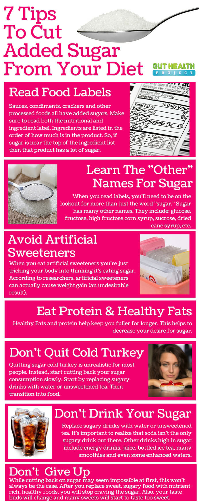 Tips To Cut Sugar Out Of Your Life For Good